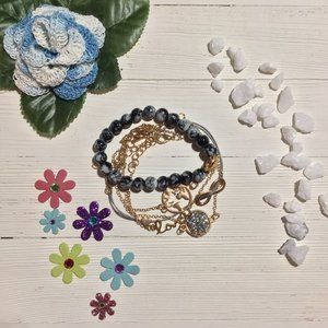 Multi-layered Bracelet Set